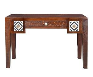 """Psací stůl """"Ebony"""", 48 x 120 x 76 cm"""
