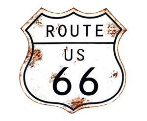 """Nástěnná dekorace """"Route"""", 1 x 61 x 61 cm"""