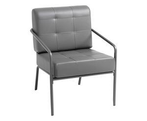 "Křeslo ""Jazz Grey"", 69 x 65 x 84 cm"
