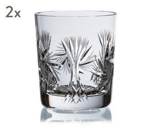 """Sada 2 sklenic na whisky """"Djurgarden III"""", obj. 250 ml"""
