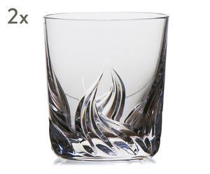 """Sada 2 sklenic na whisky """"Djurgarden IV"""", obj. 250 ml"""