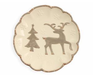 """Dekorativní talíř """"Trees"""", Ø 25, výš. 4 cm"""