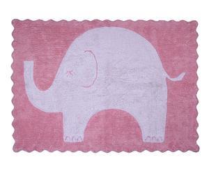 """Koberec """"Elefantito Rose"""", 160 x 120 x 5 cm"""