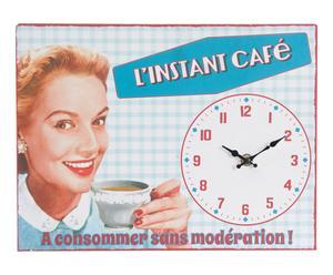 """Nástěnné hodiny """"Cafe"""", 32 x 24 cm"""