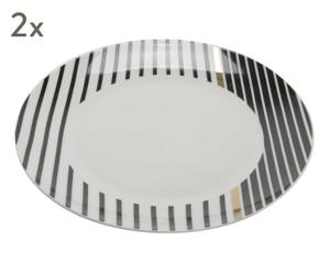 """Sada 2 mělkých talířů """"Palace"""", Ø 27, výš. 3 cm"""