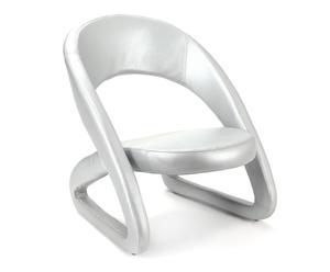 "Židle ""Modern Silver"", 75 x 62 x 72 cm"