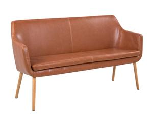 "Sofa ""Nora Brown"", 56 x 159 x 86 cm"