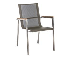 "Zahradní židle ""Evans"", 60 x 56 x 88 cm"