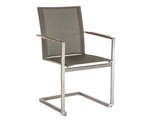 "Zahradní židle ""Adam"", 60 x 55 x 87 cm"