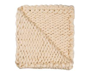 "Koc "" Knitted Beige"", 210 x 240 cm"