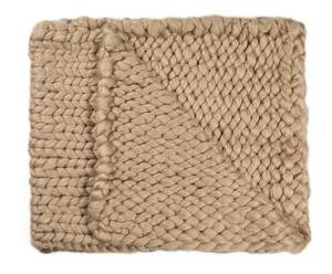 """Koc """" Knitted Taupe"""", 210 x 240 cm"""