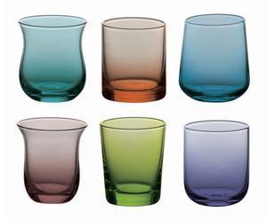 """Sada 6 skleniček """"Torres Colorful II"""", Ø 5, výš. 6 cm"""