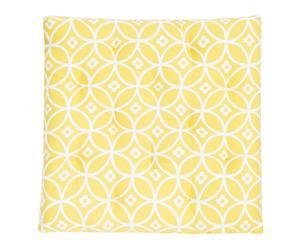 "Podsedák ""Circles Yellow"", 40 x 40 cm"