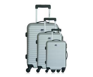 """Sada 3 kufrů """"Brazilia Silver"""""""