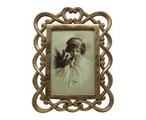 """Fotorámeček """"Livorno Gold"""", 17 x 1,5 x 23,5 cm"""