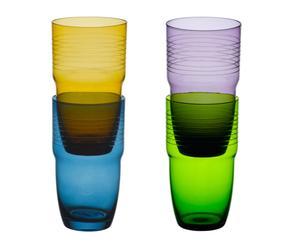 """Sada 4 sklenic """"Voila II"""", obj. 0,5 l"""