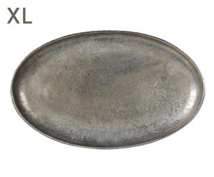 "Dekorativní talíř ""Florentino Silver II"", 27 x 45 x 2,5 cm"