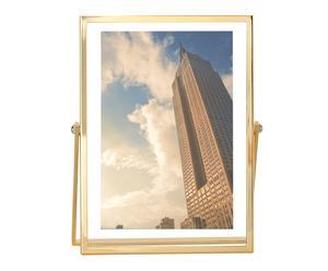 "Fotorámeček ""Verres Gold"", 15 x 3 x 20 cm"