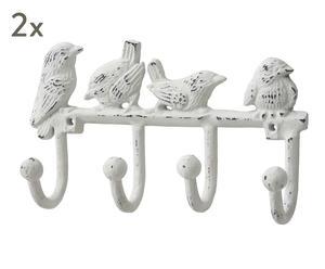 """Věšák na klíče """"Birds"""", 4,5 x 19 x 11 cm"""