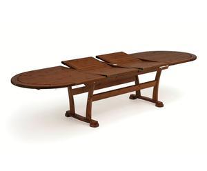 """Rozkládací stůl """"Carol Mahogany"""", 110 x 222 x 72 cm"""