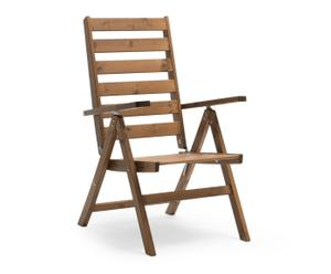 "Skládací židle ""Freja Cinnamon"", 69 x 54 x 108 cm"