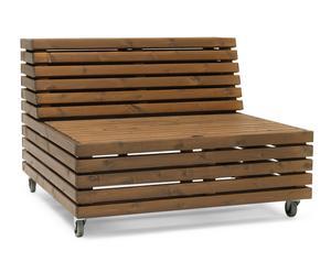 """Zahradní lavice """"Bara Vara Cinnamon"""", 98 x 98 x 70 cm"""