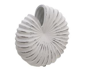 """Váza """"Seashell Creme"""", 11,5 x 22,5 x 22 cm"""