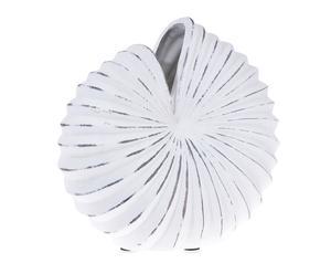 """Váza """"Seashell Creme"""", 14,5 x 29,5 x 27,5 cm"""