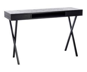 """Psací stůl """"Modern Black"""", 40 x 120 x 77 cm"""
