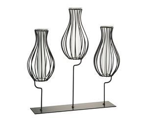 "Trojitá váza ""Pears"", 8 x 27 x 29 cm"