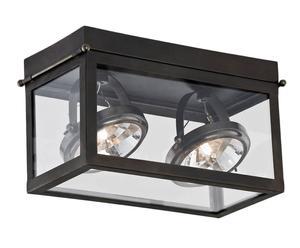 "Stropní svítidlo ""Geo Black II"", 15 x 30 x 18 cm"