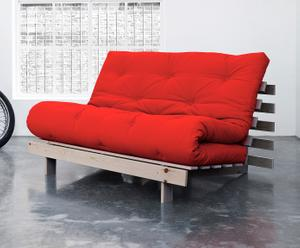 """Rozkládací pohovka """"Roots 140 Red"""", 140 x 90 x 84 cm"""