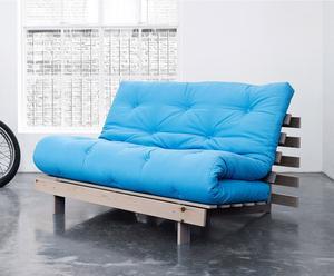 """Rozkládací pohovka """"Roots 140 Horizon Blue"""", 140 x 90 x 84 cm"""