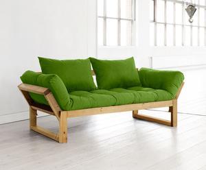 "Futon ""Edge Honey Lime"", 180 x 80 x 75 cm"