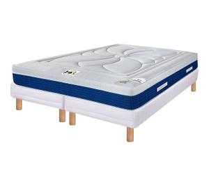 """Dvojitý rám postele s matrací """"Le Monte - Carlo II"""", 200 x 200 x 22 cm"""