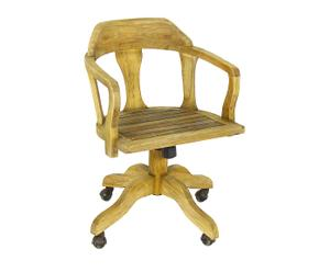 """Kancelářská židle """"Indrustrial Natural"""", 57 x 57 x 88 cm"""