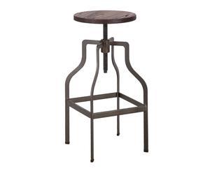 """Barová stolička """"Oregon"""", Ø 37, výš. 66-86 cm"""