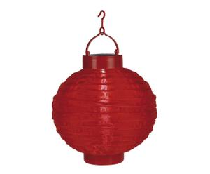 "Solární lucerna ""Ball Red"", Ø 20, výš. 22 cm"