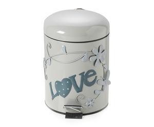 """Odpadkový koš """"Love I"""", Ø 20, výš. 30 cm"""