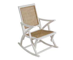 """Krzeszło bujane """"Blanca"""", 75 x 57 x 90 cm"""