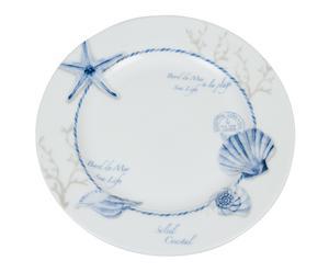 """Dezertní talíř """"Marine Blue"""", Ø 19 cm"""