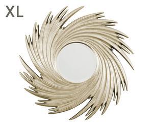 """Nástěnné zrcadlo """"Sunburst Gold"""", Ø 96, tl. 5 cm"""