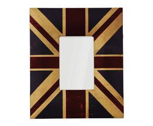 """Fotorámeček """"Union Jack II"""", 25 x 2 x 30 cm"""