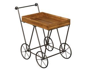 """Pojízdný servírovací stolek """"Foundry"""", 64 x 104 x 96 cm"""