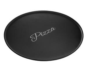 """Talíř na pizzu """"Mange Black"""", Ø 32, výš. 1 cm"""