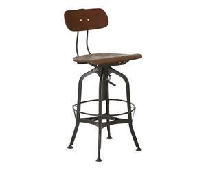 "Barová židle ""New Foundry"", 48 x 41 x 98 - 111 cm"