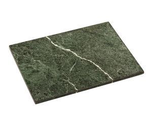 "Prkénko ""Marble Green II"", 31 x 41 x 2 cm"
