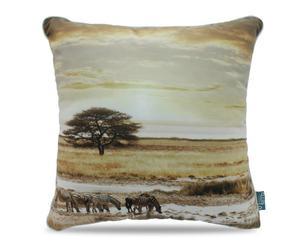 """Poduszka dekoracyjna """"Africa Taupe"""", 45 x 45 x 10 cm"""