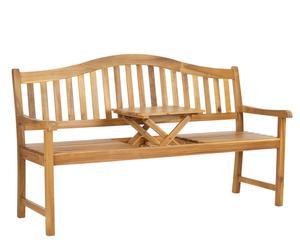 "Zahradní lavice ""Bailey"", 160 x 64 x 96 cm"