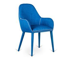 "Židle ""Jade Blue"", 58 x 56 x 87 cm"